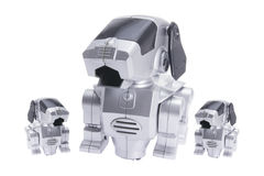 dogs robottoyen Royaltyfri Foto