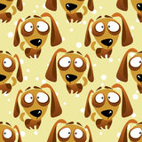 Dogs seamless pattern Royalty Free Stock Images
