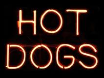 dogs varmt Royaltyfri Fotografi