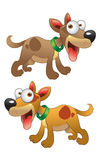dogs vektorn Royaltyfria Bilder
