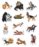 Dogs_1 Royalty Free Stock Photo
