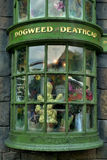 Dogweed and deathcap. The wizarding world of harry potter at universal studio orlando Royalty Free Stock Images