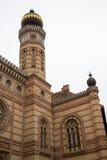 DohÃ-¡ ny Straßen-Synagoge, Budapest Stockfoto