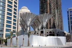 doha śródmieście Qatar Obraz Royalty Free