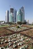 doha śródmieście Qatar Zdjęcie Stock