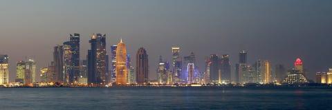 doha Κατάρ Στοκ Φωτογραφία