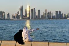 doha Катар Стоковое Изображение