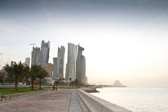 Doha Στοκ εικόνα με δικαίωμα ελεύθερης χρήσης