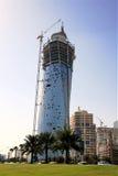 Doha in aanbouw Royalty-vrije Stock Afbeeldingen