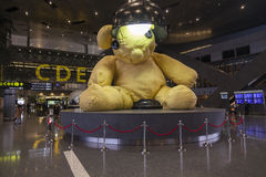 Doha airport decoration Stock Images