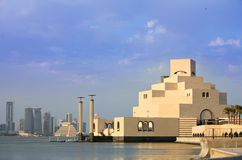 Doha bay view Stock Photography