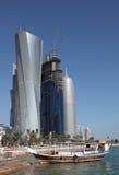 Doha céntrico, Qatar Fotografía de archivo libre de regalías