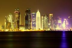 Doha - background Stock Images