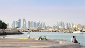 Doha city Stock Photography