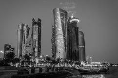 Doha City, Qatar royalty free stock image