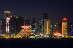 Doha city, Qatar stock images