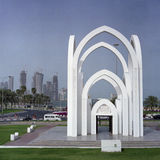 Doha city view royalty free stock images