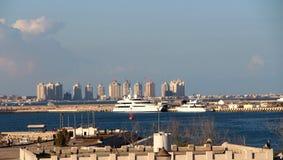 Doha Corniche Qatar Fotografia Stock