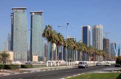 Doha Downtown, Qatar Stock Image
