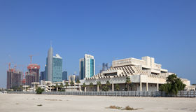 Doha downtown, Qatar Royalty Free Stock Photo