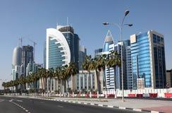 Doha downtown. Qatar Stock Images