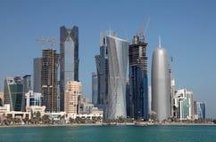 Doha downttown district Stock Photo