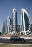 Doha financial and administrative district Stock Photo