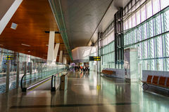 Doha Hamad International Airport, Qatar Photos stock