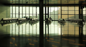 Doha International Airport Royalty Free Stock Photos