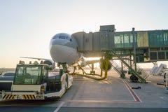 Doha Internationale Luchthaven royalty-vrije stock foto's