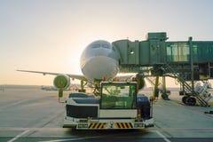 Doha Internationale Luchthaven stock afbeeldingen