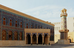 Doha mosque Royalty Free Stock Photos