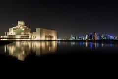 Doha museum av islamisk konst Royaltyfri Fotografi