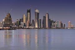 doha qatar Royaltyfria Foton