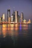 doha qatar Arkivfoto