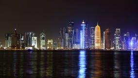 doha qatar Royaltyfri Foto