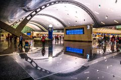 Hamad International Airport royalty free stock photo
