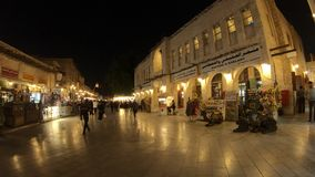 Souq Waqif Doha stock footage  Video of lights, architecture - 142655344