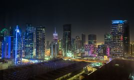 Doha in Qatar royalty free stock photo