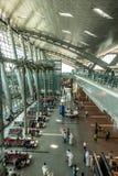 Hamad International Airport in Doha Qatar Stock Photos