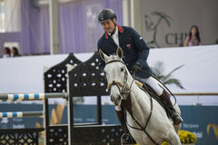 Action from the  CHI Al Shaqab 2013 Stock Photo