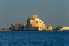 Doha, Qatar: The Museum of Islamic Art Royalty Free Stock Photography