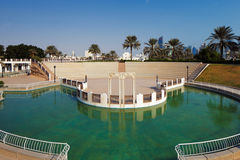 Doha, Qatar: Recreational parks are commonplace in the capital. Doha, Qatar: Recreational parks are commonplace along the Corniche in the capital Stock Photography