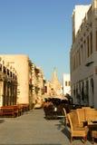 Doha, Qatar - souk velho imagens de stock royalty free