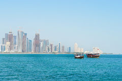 Doha - Qatar - Stadtbild Stockfotos