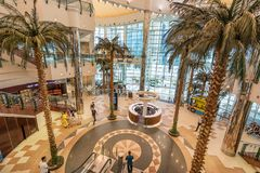City Center Mall in Doha Qatar royalty free stock image