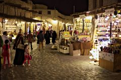 Doha souq Royalty Free Stock Images