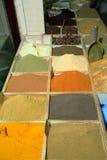 Doha spice shop Stock Photo