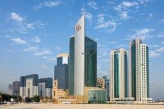 Doha-Türme lizenzfreie stockbilder