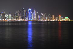 Doha-Türme Stockbilder